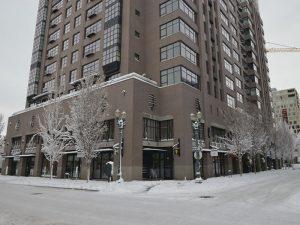 The Elizabeth exterior snow