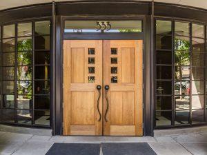 The Elizabeth front door